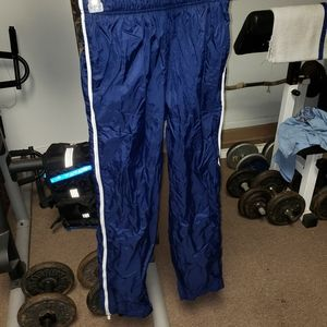 Mens small blue and white Nike sweatpants